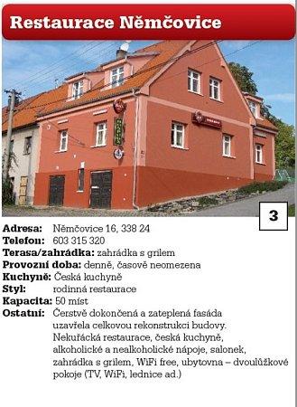3. Restaurace Němčovice