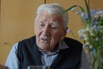 Jiří řepa si v pondělí připomněl 96. narozeniny. Mezi gratulanty nechyběli představitelé Rokycan.