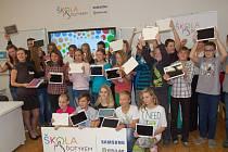 Základní škola TGM v Rokycanech se zapojila se do projektu Škola dotykem, který získal záštitu ministerstva školství, mládeže a tělovýchovy.
