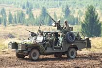 Den pozemního vojska - Bahna - v Brdech