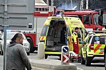 V Břasích srazilo nákladní auto seniora.