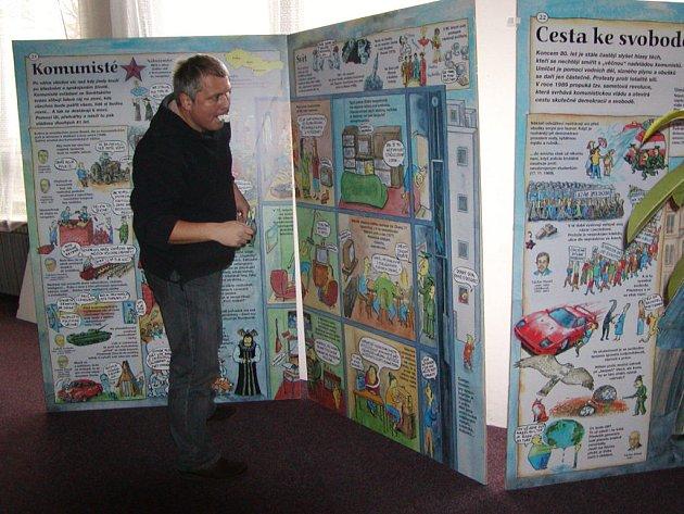 Jedinečná výstava Dějiny udatného českého národa dorazila do Rokycan.