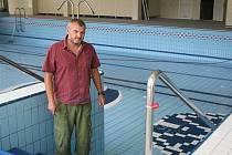 Rokycanský bazén je teď  bez vody. Důvodem je totiž tradiční technická odstávka od čtvrtého do šestadvacátého července.