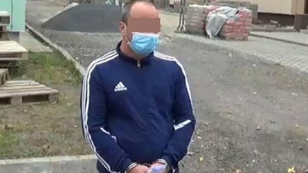 Podvodník z Rokycanska a jeho Ford Kuga, který si pořídil na falešné doklady a který policie zajistila.