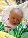 ALENA MÁCHOVÁ ze Zbiroha se narodila 25. března ve 2:44 hodin ve FN Plzeň. Manželé Petra a Jan věděli dopředu, že jejich první potomek bude holčička. Alenka vážila 3380 gramů a měřila 50 cm.