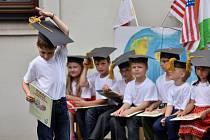 Slavnostní vyřazení předškoláčků v MŠ Dobřív.