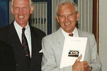 Franz Borgers a Václav Beneda na snímku z června 1995
