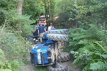 Vážná nehoda u Těškova.