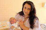 MIROSLAVA GABOR z Plískova přišel na svět 22. května hodinu po poledni. Rodiče Pavlína a Miroslav už mají doma osmiletou dceru Haničku a věděli dopředu, že tentokrát jim čáp přinese chlapečka. Malý Mireček vážil po narození 3230 gramů, měřil 47 cm.