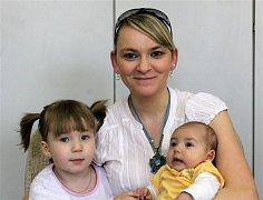 Adélka PELCOVÁ z Plzně přišla na svět v Mulačově nemocnici v Plzni. Narodila se 22. ledna deset minut po šesté večer. Malá Adélka vážila při narození 2700 gramů, měřila 47 cm.
