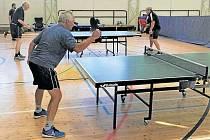Aktéři turnaje ve stolním tenistu si ve Strašicích připomněli původní bodování.