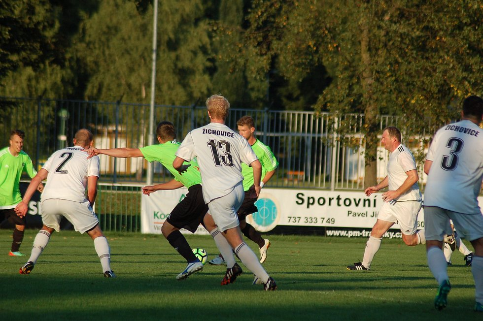 Záložní celek FC si po sestupu z krajského přeboru počíná o soutěž níž se střídavými úspěchy.