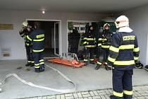 Zbirožští hasiči cvičili na Švabíně