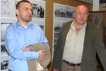 PŘEDSTAVITELÉ plzeňského magistrátu navštívili včera Muzeum na demarkační linii u Rokycan.
