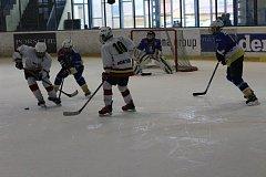 Hokejoví žáci DDM Rokycany drtili jihočechy