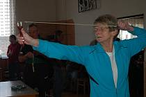 Mirka z Březové. Početnou výpravu poslali do Plískova milovníci střelných zbraní z Březové na Sokolovsku. Byla mezi nimi zkušená Mirka Pekuniaková.