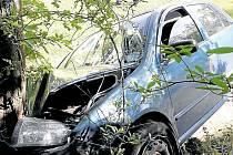 Kuriózní dopravní nehoda v Rokycanech