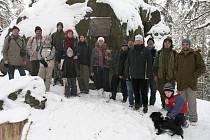 První letošní společnou vycházku absolvovali o víkendu rokycanští ochránci přírody.