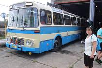 Muzeum dopravy ve Strašicích.