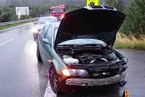 Havárie osobního automobilu u Ejpovic