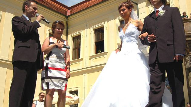 V Mirošově se uskutečnil druhý ročník Svatebního květinového dne.