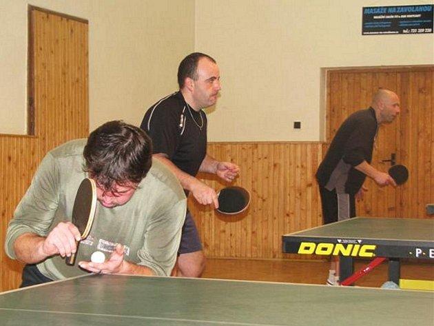 Klabavský vánoční turnaj ve stolním tenise.