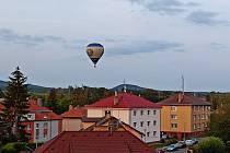 Balón nad Rokycany