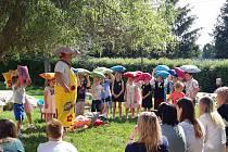 Pasování předškoláčků v Mateřské škole Sluníčko v Mýtě.