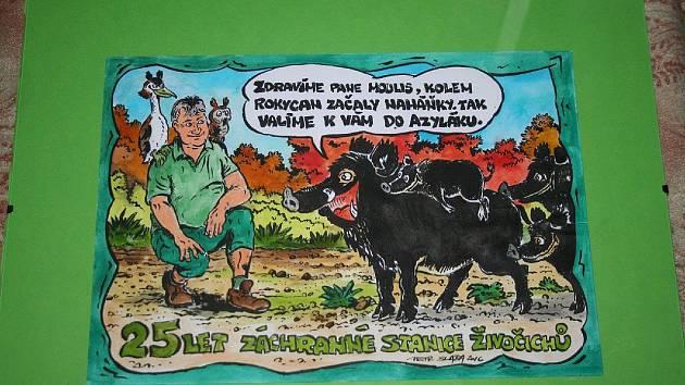 Oslava 25 let založení rokycanské záchranné stanice živočichů.
