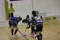 Florbalový turnaj žákyň v Rokycanech