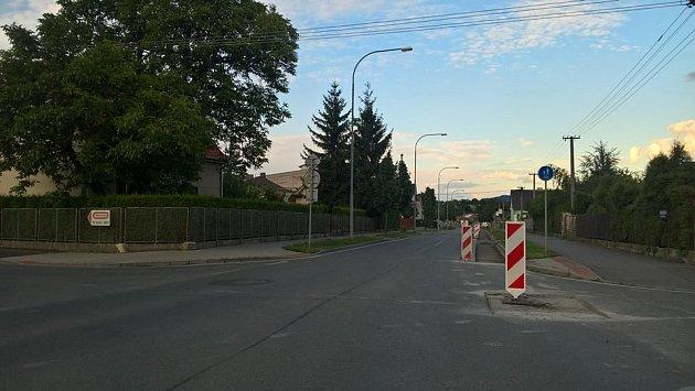Rekonstrukce ulice Boženy Němcové