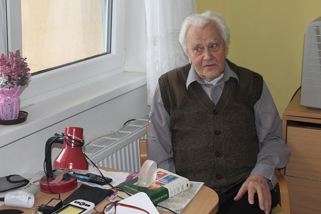 Miroslav Kofroň oslavil 98narozeniny