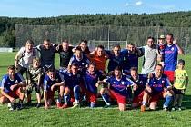 Vítězné mužstvo OP