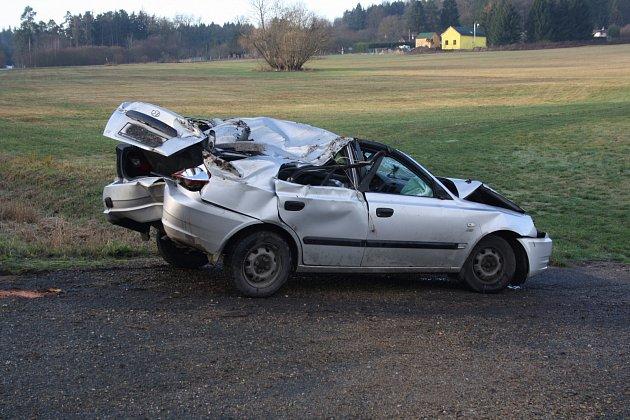 Ranní nehoda na Šťáhlavské v Rokycanech se neobešla bez zranění.