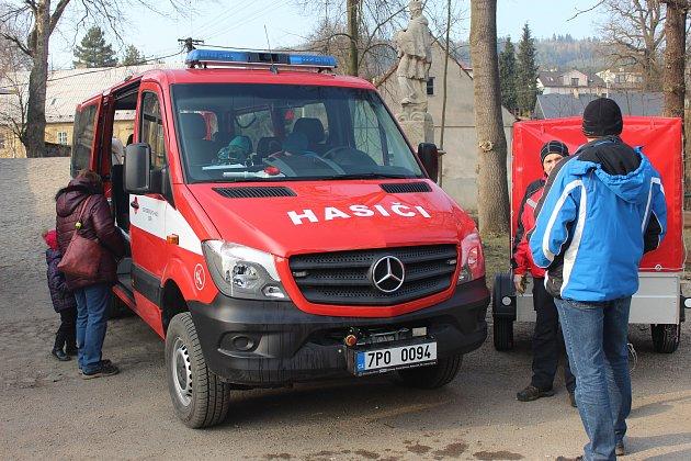 Dobřív – Velké hasičské rojení se odehrávalo vsobotu odpoledne poblíž proslulého Švédského mostu vDobřívě.