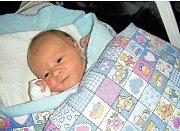FANOUŠEK ROUS. Martin Rous si nenechal ujít narození syna Františka, kterého přivedla na svět maminka Barbora Hájková 5. ledna 2018 v hořovické porodnici. Míry 3,53 kg a 50 cm. Domov má rodinka v Břasích.