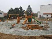 Dětské hřiště v Ejpovicích.