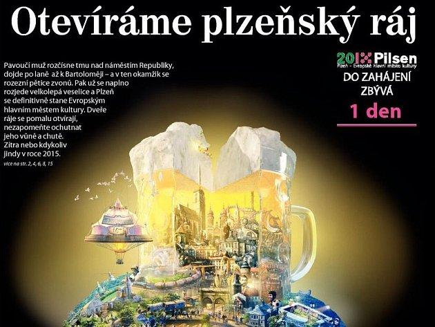 Veškeré podstatné informace přináší všechny regionální mutace Deníku v Plzeňském kraji.