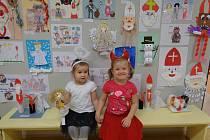 Čertovská výstava v mateřské škole ve Školní ulici