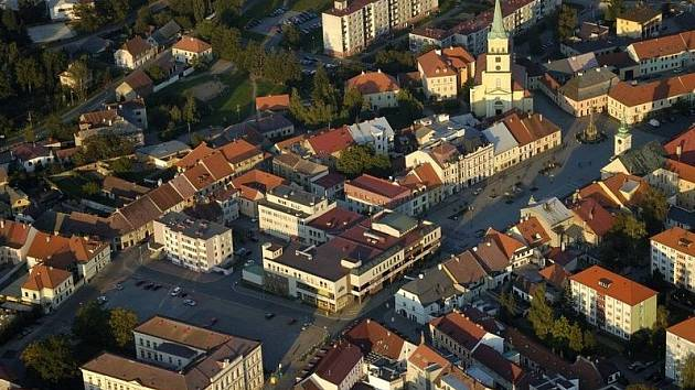 Rokycany - centrum města