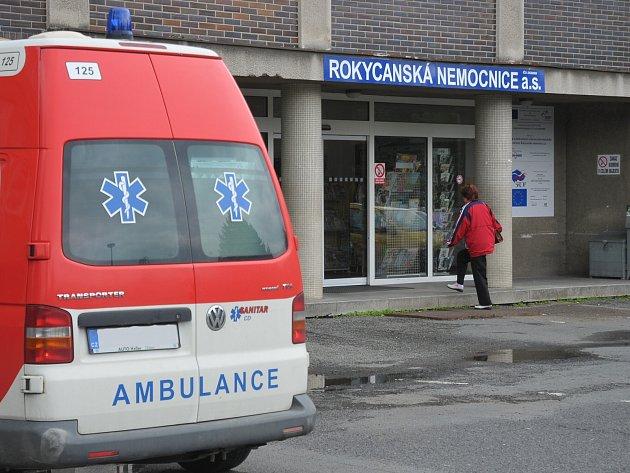 Rokycanská nemocnice zažila adrenalinové ráno.
