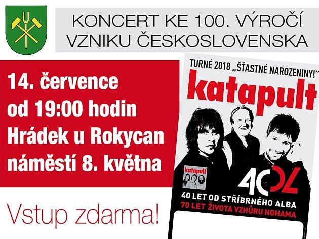 Koncert rockových legend!  14. 7. v Hrádku!!!
