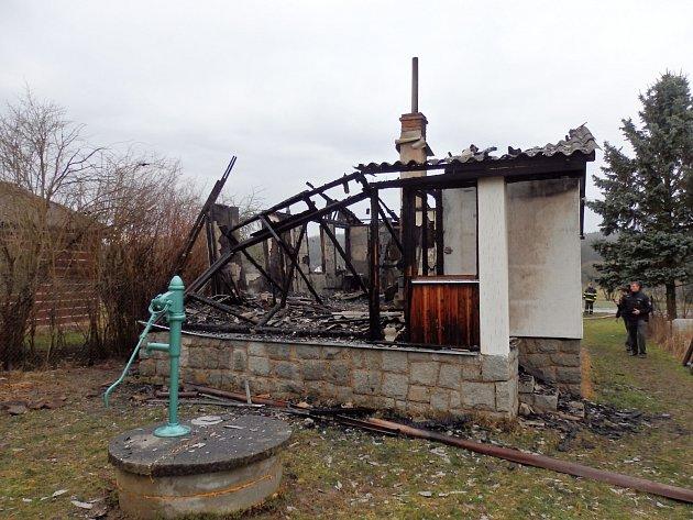 Výši škod nebylo doposud možné stanovit, čeká se na vyjádření majitele.