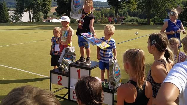 Dětské sportovní hry se uskutečnily v Klabavě.