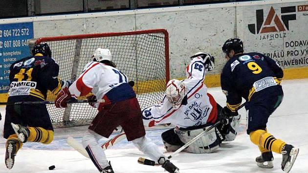 Hokejová II. NHL vstupuje do rozhodující fáze. O víkendu začne play–off za účasti šestnácti nejlepších mužstev. Západní skupině kraloval HC DAG Rokycany a utká se v osmifinále s Velkým Meziříčím.
