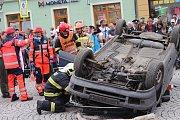V Rokycanech soutěžili hasiči a záchranáři.