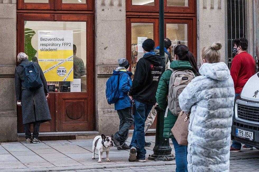 Výdejna Express Servis, Smetanova ulice v Plzni.