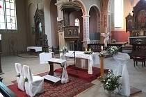 Kostel ve Stupně je pro svatby připravený