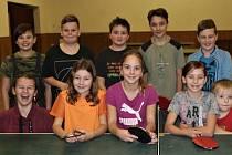 Turnaj ve stolním tenise - děti
