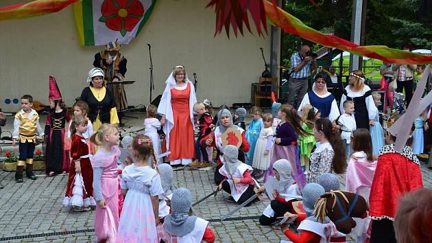 Oslavy povýšení na městys ve Zbiroze.